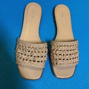 Marc Fisher Jeremy flat slide sandals